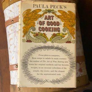 Vintage 1966 Paula Peck's Art of Good Cooking Cookbook